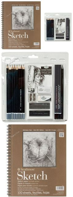 Art Pencils and Charcoal 28108: Sketching Pencil Set 21 With Drawing Pad Graphite Pencils Charcoal Art Supplies -> BUY IT NOW ONLY: $31.34 on eBay!