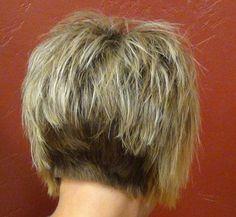 Back View of Short Haircuts | 2013 Short Haircut for Women