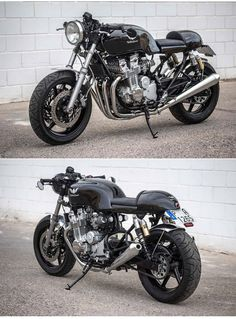 Honda CB750 Seven Fifty Cafe Racer     http://caferacerpasion.com/honda-cb750-seven-fifty-cafe-racer-the-bike-special/