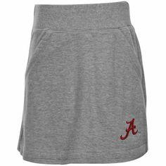 Alabama Crimson Tide Youth Girls Kyla Skirt - Ash