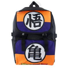 dragon ball z waterproof laptop backpackdouble shoulderschool bag