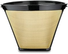#4 Cone Shape Permanent Coffee Filter - http://teacoffeestore.com/4-cone-shape-permanent-coffee-filter/