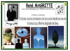 Je commence cette exposition avec les travaux de mes élèves. Nous avons travaillé sur le chemin du ciel de René MAGRITTE :