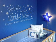 Twinkle+twinkle+little+star+large+wall+sticker+by+60SecondMakeover,+£16.99