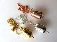 Silver/Rose Gold/Gold Brass Chakra Pendulum, Dowsing Pendulum, Healing Pendant, Chakra Jewelry, Spiritual Jewelry GDS1021 by GemsDiamondsBySHIKHA on Etsy