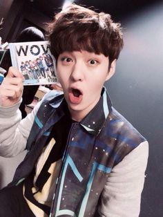 '@BTOB_JPN: チャンソプで〜す!みんなデビュー曲聞いてくれた?WOW〜♪ #btob #wowjp' #Changsub ♡