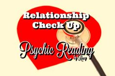 Relationship Check Up Psychic Reading, Spiritually Guided Tarot Reading, Relationship Direction, Road Ahead, Long Term Potential, Outcome by PsychicReadingByRoxy on Etsy