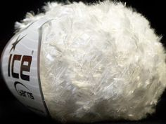 ICE YARNS sale eyelash type yarn 50gr 1 skein white polyester ships from usa at usps cost 24877 novelty fuzzy soft by turkishmarket, $4.00