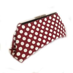 Revelry Dresses - Coin Clutch (Maroon Spot), $39.00 (http://www.revelrydresses.com/coin-clutch-maroon-spot/)