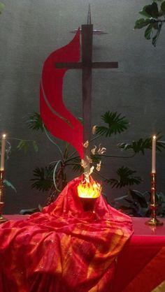 Altar de pentecostes.