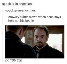 Only us SPN fans can have feels about the freaking King of Hell... And no, we're NOT SORRY!!!