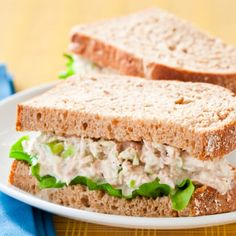 America's Test Kitchen Tuna Salad with Lime and Horseradish. Three simple steps eliminate the twin problems of tuna salad: watery texture and bland flavor. Tuna Recipes, Seafood Recipes, Yummy Recipes, Tuna Sandwich Recipes, Simply Recipes, Healthy Recipes, Best Tuna Salad Recipe, Classic Tuna Salad Recipe, Recipes