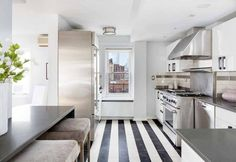 How amazing are these striped floors?