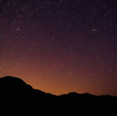 Dreaming Light - Stars Over Vermont Mountains at Night