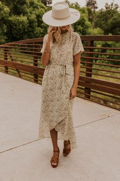 <img> Summer Floral Maxi Dress – Modest Short Sleeve Dress for Women – Wedding Guest Outfit Ideas – Short Sleeve Wrap Tie Dress – Knee Length Dresses Modest Dresses, Casual Dresses, Summer Dresses, Maxi Dresses, Formal Outfits, Church Dresses, Casual Clothes, Floral Dresses, Beautiful Dress Designs
