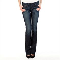 True Religion Women's Contemporary Becky Super T Boot Cut Jean | from Von Maur #VonMaur #StyleCorner #BootCut #Denim