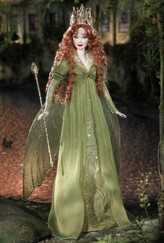 Faerie Queen™ Barbie® Doll | Barbie Collector. Can't figure out if I like the redhead or brunette better so I posted them both