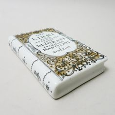 Located using retrostart.com > Paper Weight In Ceramic by Piero Fornasetti for Fornasetti Milano