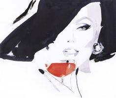 David Downton is another one of my faves! Iconic and elegant illustrations that inspire me.