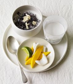 MiNDFOOD - Black Sticky Rice with Coconut and Mango