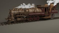 https://hannesdreyer.deviantart.com/art/Steampunk-train-361345139