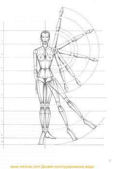 Rule Of Proportion the human body - Figure Drawing - Odea Fashion NY