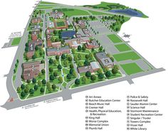 Youngstown State University Campus Map.18 Best Emporia State Campus Images Emporia State State