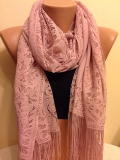 Check out this item in my Etsy shop https://www.etsy.com/listing/207034937/light-pink-tulle-fringed-scarfpink