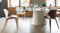 Designline Living - Produkte: Jehs+Laub, COR, Shrimp - Stühle