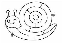 Autismus Arbeitsmaterial: Einfache Labyrinthe