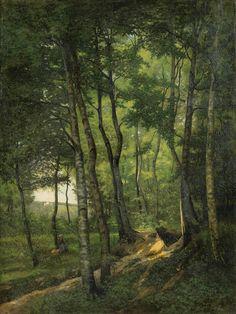 La Forêt de Marly-Le-Roy, 1877, Georges Rodrigues-Henriques