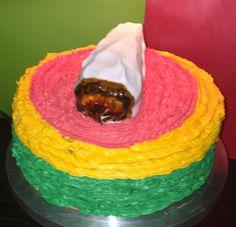 Rasta Irie cake