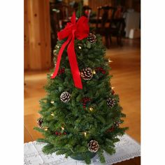Worcester Christmas Wreath Classic Large Pre-Lit Tabletop Christmas Tree. This awesome product currently 2 unit available. $53.94