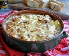 Lavender and Lovage   Ski Chalet Supper: Tartiflette Savoyarde with Reblochon Cheese   https://www.lavenderandlovage.com