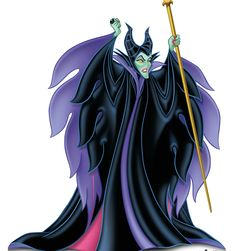 Life-size cardboard standup of Maleficent – Disney Villains stands at a size of 64″ x 54″