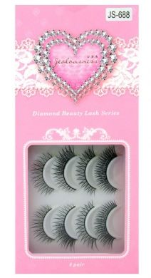 Jealousness Diamond Beauty False Eyelashes Mixed Style JS-688 (8 Pairs)