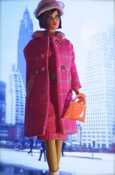 Mod Era Barbie - Hair Fair Barbie - Brunette