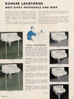 Vintage bathroom sinks -- the seven distinct design styles - Retro Renovation