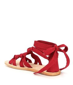 AD & Daughters Bristela Lace Up Flat Gladiator Sandals huc5iqXb