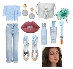 """""""Sin título #26"""" by yumyv ❤ liked on Polyvore featuring Alexander McQueen, Sole Society, Pasquale Bruni, Drybar, Estée Lauder, Too Faced Cosmetics, Chiara Ferragni and Lime Crime"""