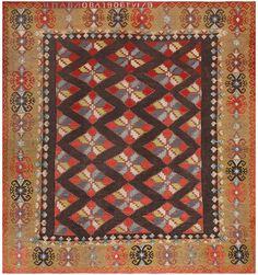 Antique Room Sized Besserabian Carpet 50187 by Nazmiyal