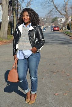 Light layering for a casual chic day