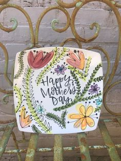 Paint Your Own Pottery, Painted Pottery, Painted Plates, Painting Pictures, Pictures To Paint, Pottery Plates, Ceramic Pottery, Color Me Mine, Zen Design