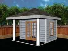 """Free Cabana Plan, Storage Shed Plans, Pool House Plans"""