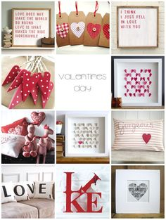 Lots of cute Valentine ideas