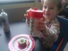 Cupcakes met tante Ingrid