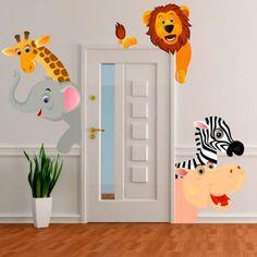 muurstickers babykamer jungle - Google zoeken