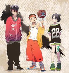 Zuko, Aang, & Toph