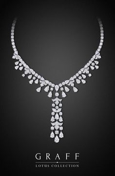 The #GraffDiamonds Lotus Collection #Necklace