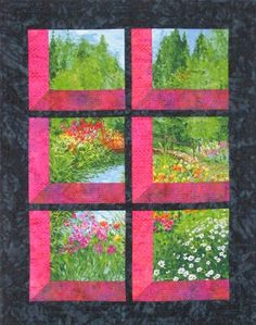 Shadow Box Quilt Pattern Free | ... quilt university quilt block pattern attic windows shadow box quilt